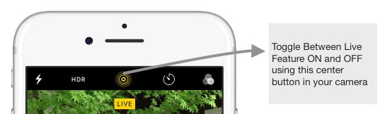 Cómo editar fotos en vivo en tu iPhone