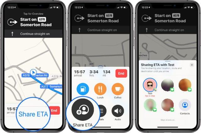 ¿Compartir el tiempo estimado de llegada no funciona en tu iPhone? Sigue estos pasos para arreglarlo