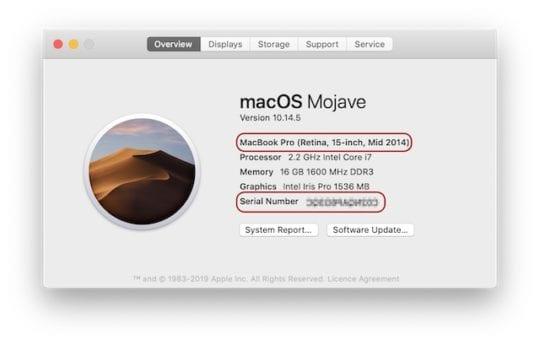 Programa de retirada de la batería: Tu MacBook Pro de 15 pulgadas puede suponer un riesgo de incendio