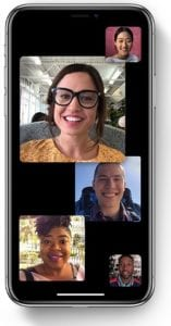 FaceTime ha desaparecido o no funciona en mi iPhone