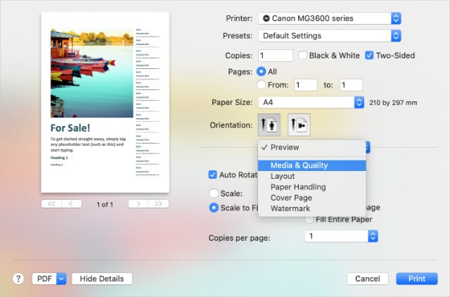 Usa cualquier impresora de tu iPhone o iPad sin AirPrint