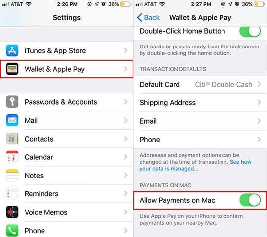 Configuración, uso y administración de Apple Pay en Mac (Guía)