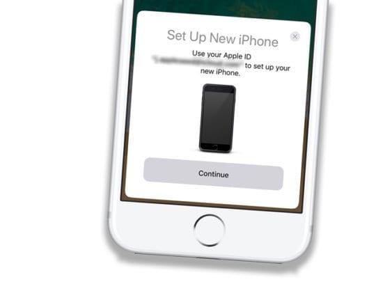 Cómo usar las manzanas Inicio rápido Configuración automática para iOS  iPadOS