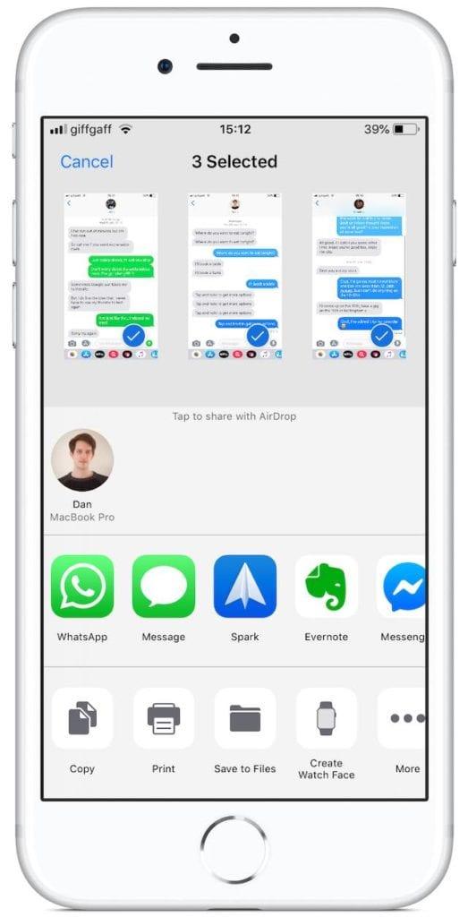 【Descubre cómo imprimir mensajes de texto desde un iPhone ...
