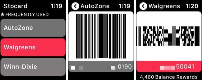 Las mejores aplicaciones de tarjetas de fidelidad para Apple Watch