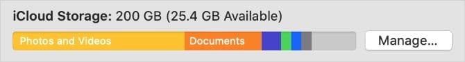 ¿Mi Mac almacena las carpetas de iCloud Drive Desktop & Documents localmente?