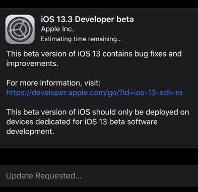 Esta nueva característica del iOS 13.3 hace que valga la pena esperar la actualización