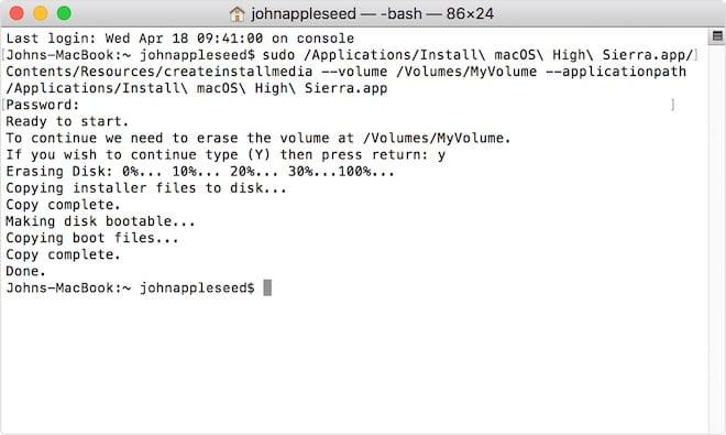 Cómo conseguir instaladores de viejas versiones de MacOS directamente desde Apple